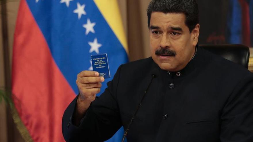 "Maduro anuncia un plan de justicia de ""emergencia"" para capturar ""conspiradores"""