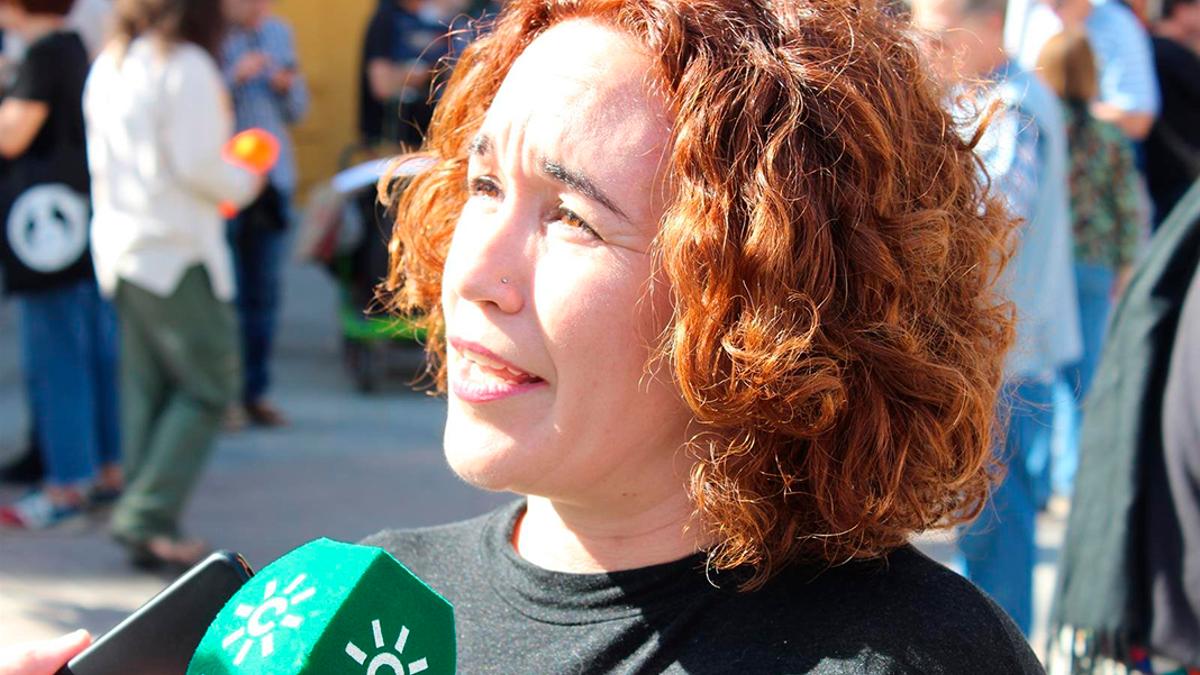 La parlamentaria Ana Naranjo.