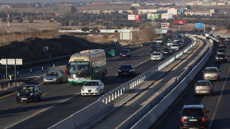 Siete muertos en las carreteras españolas durante el fin de semana