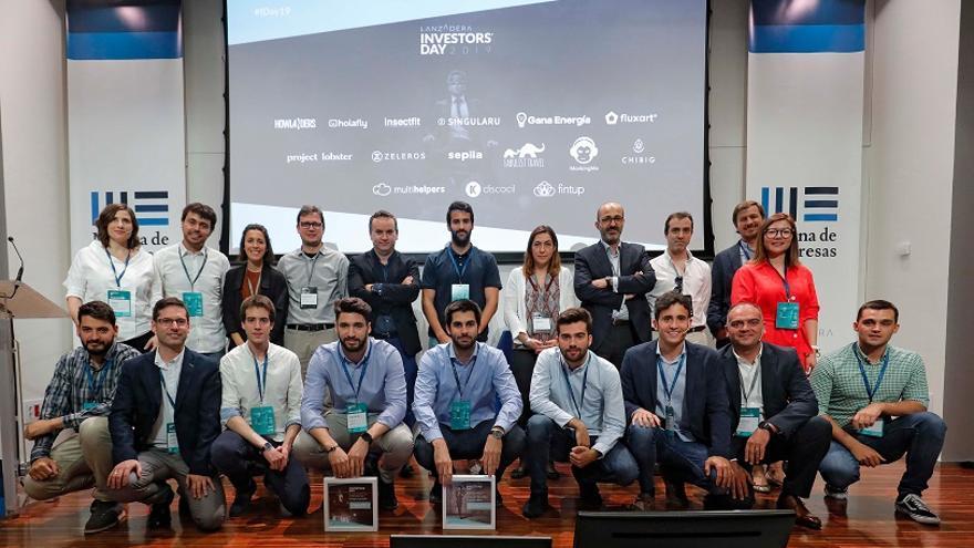 Imagen de los participantes en el Investors' Day