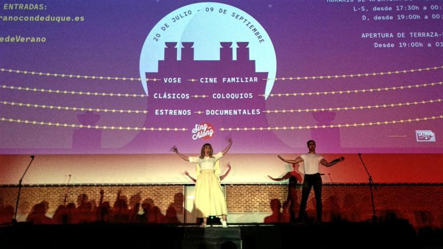 Un momento del Sing Along de Grease en el Conde Duque, en 2018 | SOMOS MALASAÑA