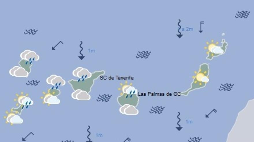 El tiempo en Canarias para este lunes, 11 de septiembre