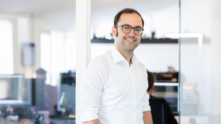 Lasse Rheingans, consejero delegado de la empresa alemana Digital Enabler