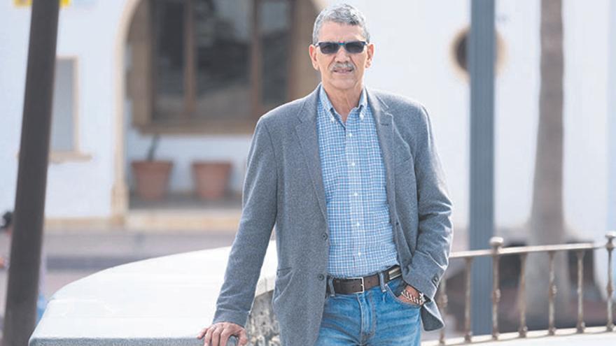 Ali Larbi Mohamed, delegado del Frente Polisario en Fuerteventura
