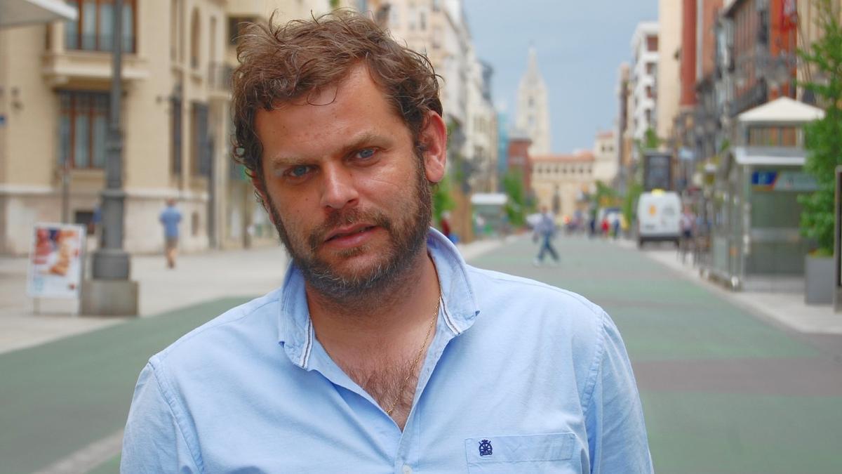 Javier Santiago Vélez, candidato de León.