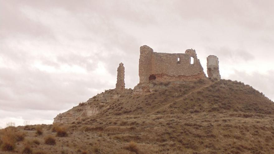 Castillo de Carabanchel o Monreal, en Dosbarrios (Toledo)