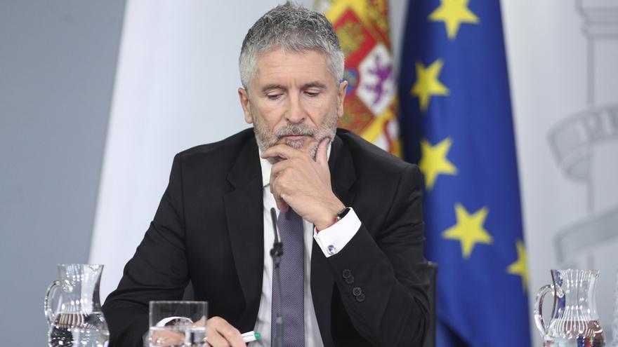 """Marlaska señala como """"relevante"""" la 'operación Judas' y ve """"preocupantes"""" las críticas de Torra"""