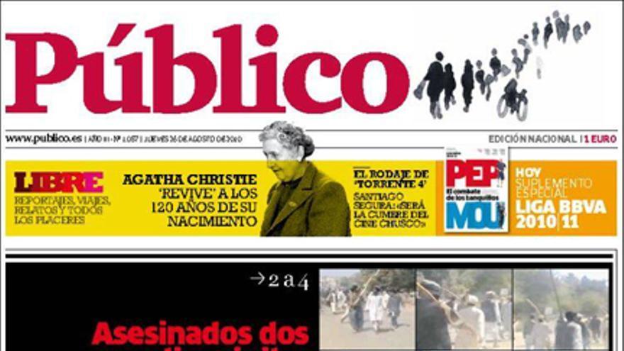 De las portadas del día (26/08/2010) #12