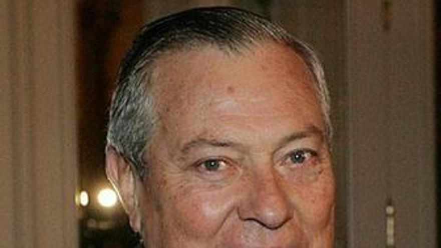 Primer plano del presidente de Marsans, Gonzalo Pascual