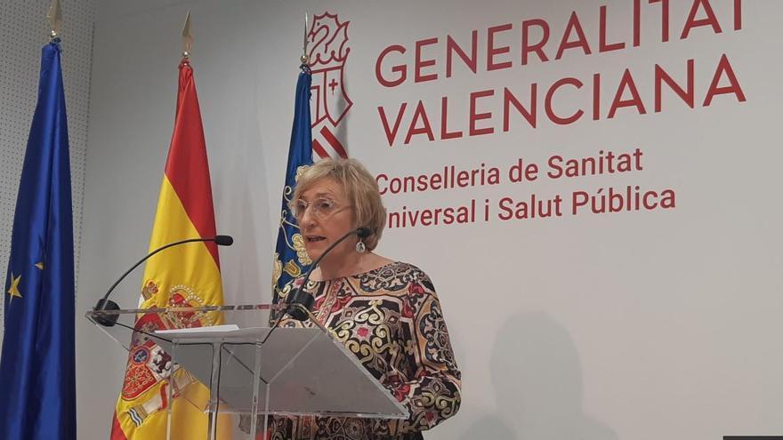 La consellera de Sanidad, Ana Barceló.