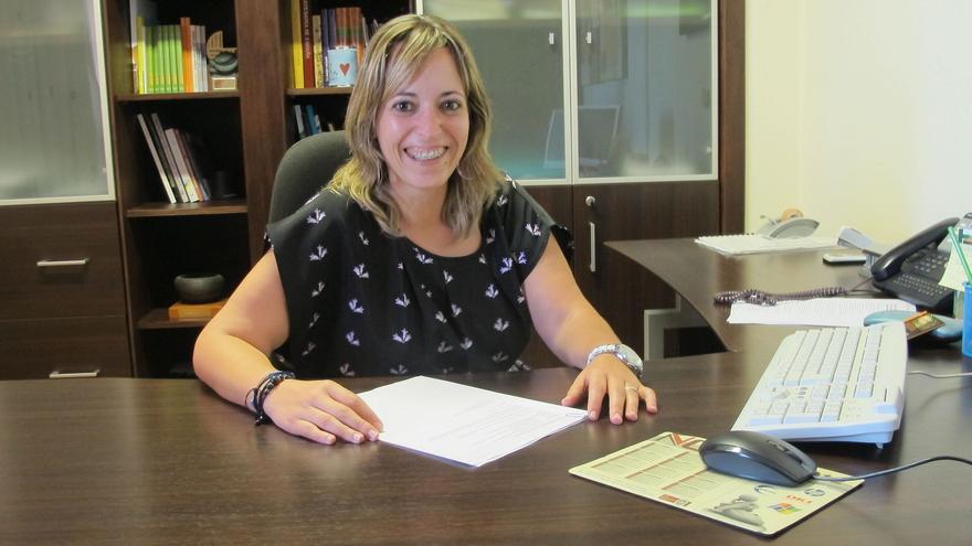 Susana Machín es consejera de Artesanía del Cabildo.