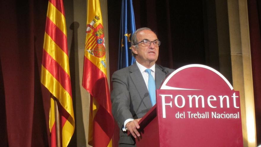 Gay de Montellà (Fomento del Trabajo) cree que el control de las finanzas catalanas era necesario