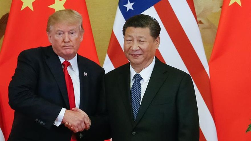 """Trump advierte a Xi de que el déficit comercial con China """"no es sostenible"""""""