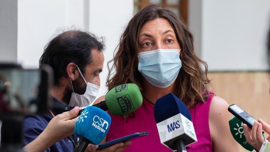 Loles López, este jueves en el Parlamento