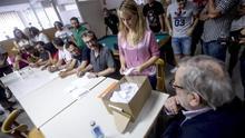 Votación de los trabajadores de Eulen sobre las propuestas de la empresa