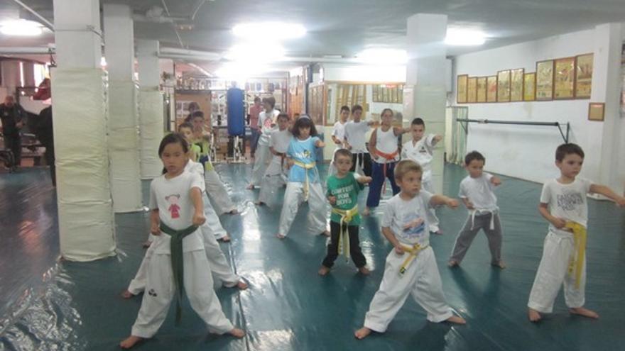 Del gimnasio 'Han Kuk' de Telde #8