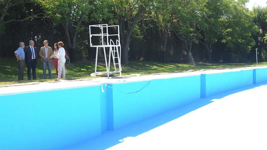 Visita a la piscina.