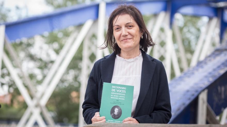 Pilar Benítez, coautora del 'Diccionario de voces aragonesas de María Josefa Massanés Dalmau. Una curiosidad lexicográfica del siglo XIX'.