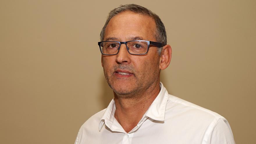 El hasta ahora gerente de la Fundación Municipal de Cultura, Juan Sanz Ruiz.