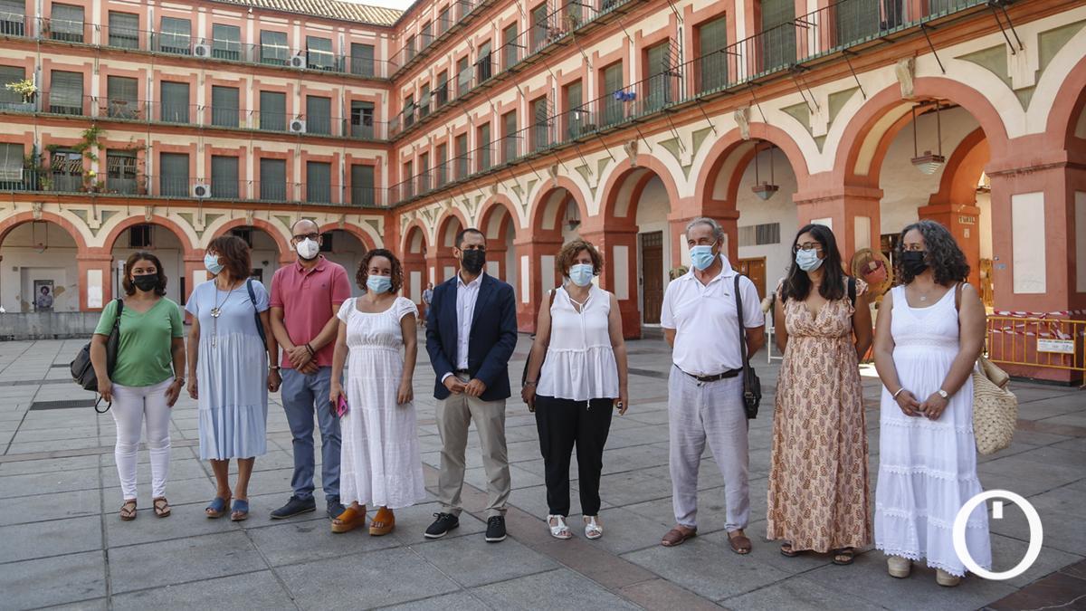 Presentación de la nueva dirección colegiada provincial de IU Córdoba