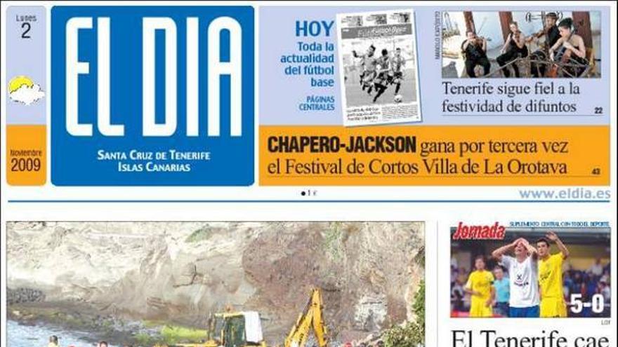 De las portadas del día (2/11/2009) #4