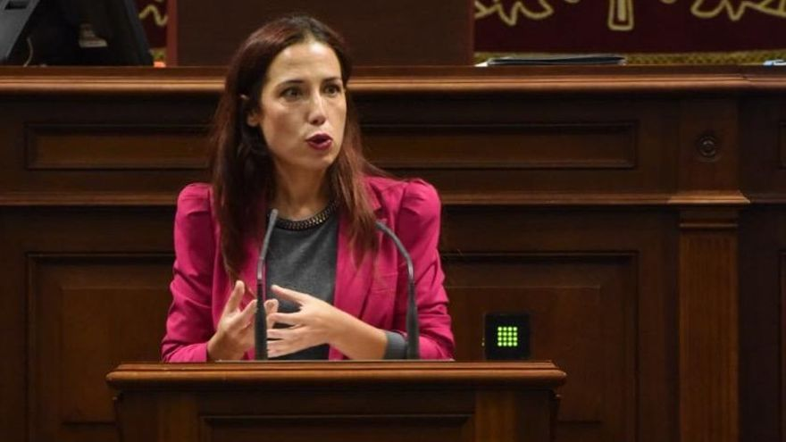 Patricia Hernández, vicepresidenta de Gobierno de Canarias y consejera de Empleo, Políticas Sociales y Vivienda.