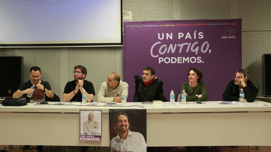 Acto Podemos en Guadalajara