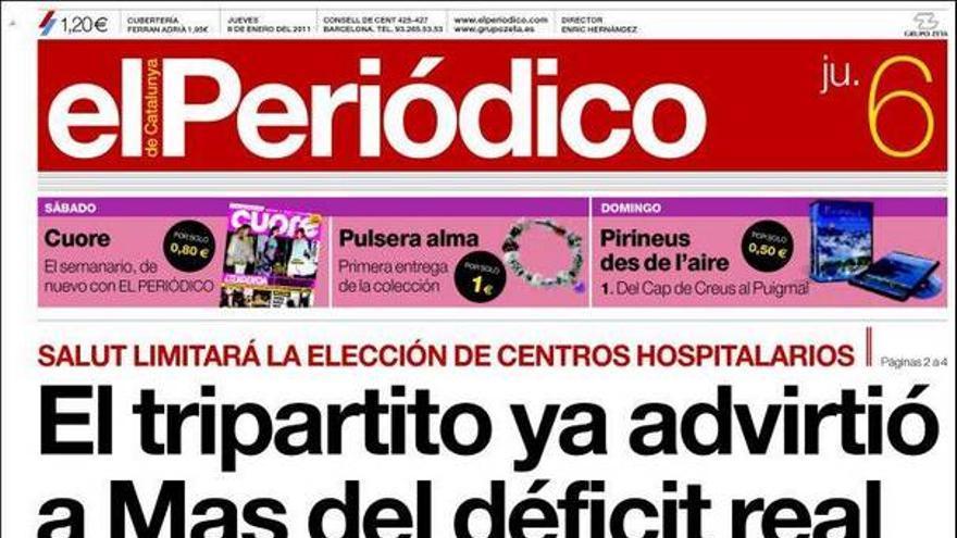 De las portadas del día (06/01/2011) #9