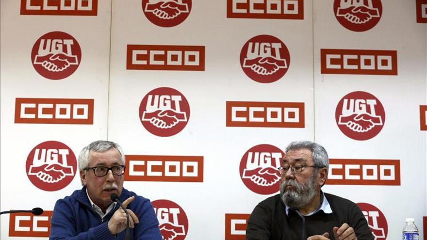 Los sindicatos avisan de que hay que cerrar la negociación colectiva esta semana