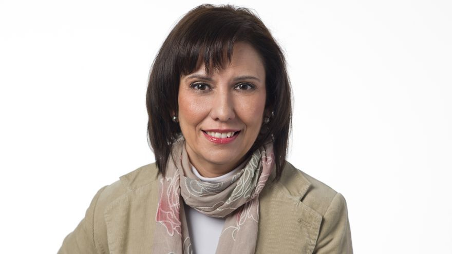 Josefina González, candidata del PSOE en el Ayuntamiento de Los Corrales de Buelna.