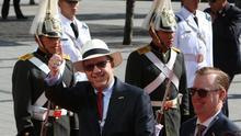 En la imagen, el nuevo embajador de Estados Unidos en Brasil, Todd C. Chapman (i).