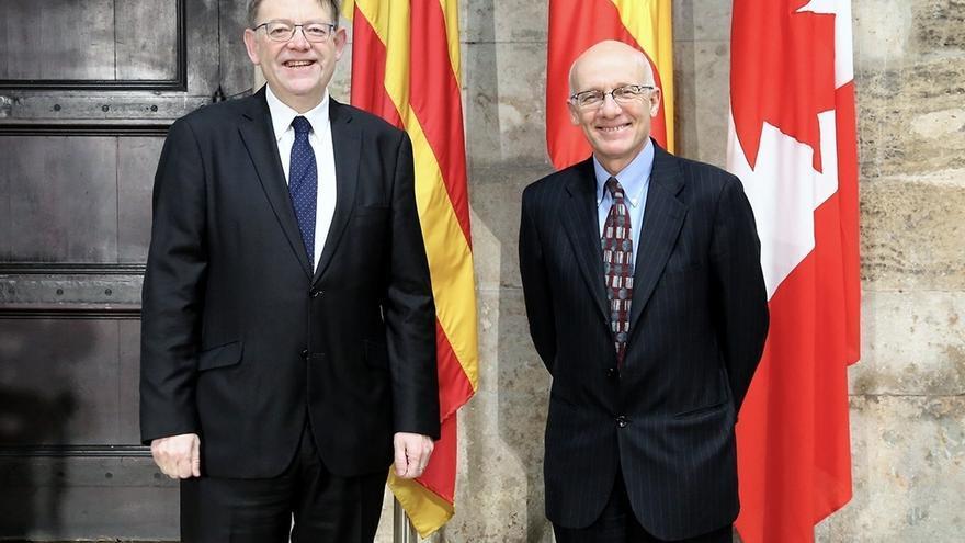 Puig encabezará una misión comercial a Canadá para impulsar la presencia de empresas valencianas y abrir mercados