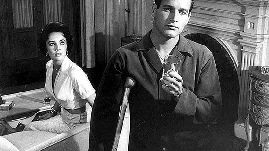 'La gata sobre el tejado de zinc (caliente)' de Tennesse Williams fue llevada al cine en 1958