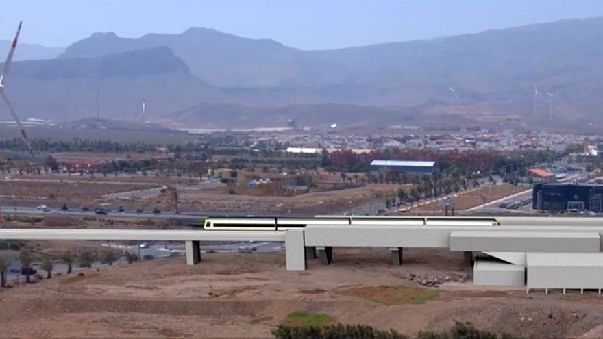 Proyecto del tren de Gran Canaria