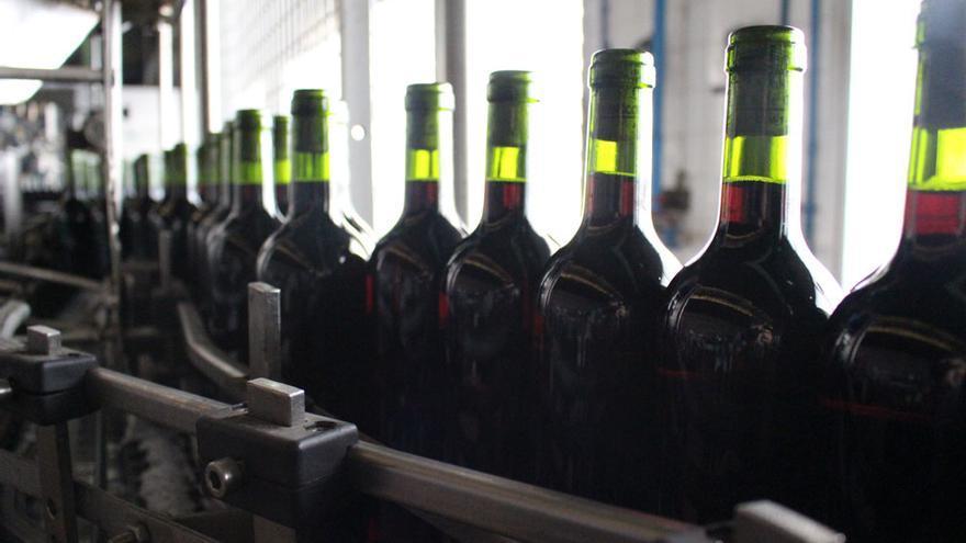 Embotellado de vino