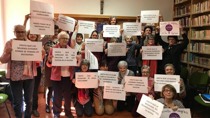 Organizadoras de la concentración del próximo 1 de marzo en La Almudena