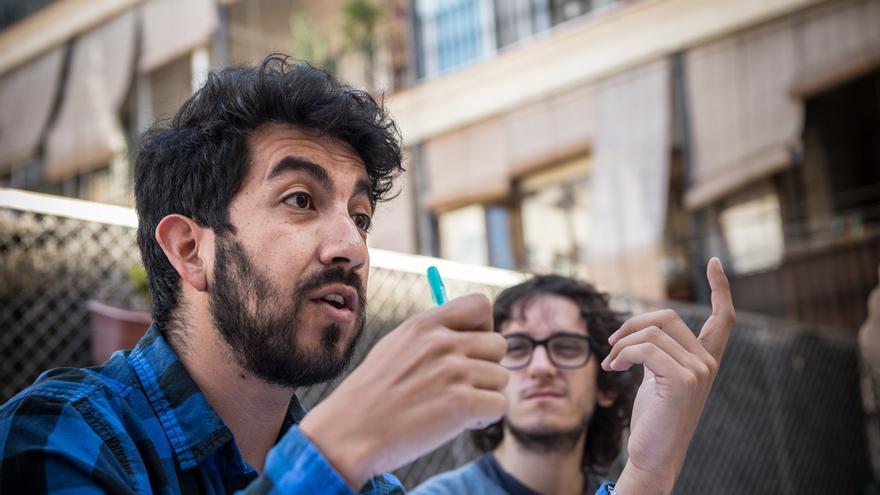 Hugo Vásquez y Andrés Peralta, investigadores de la Agència de Salut Pública de Barcelona