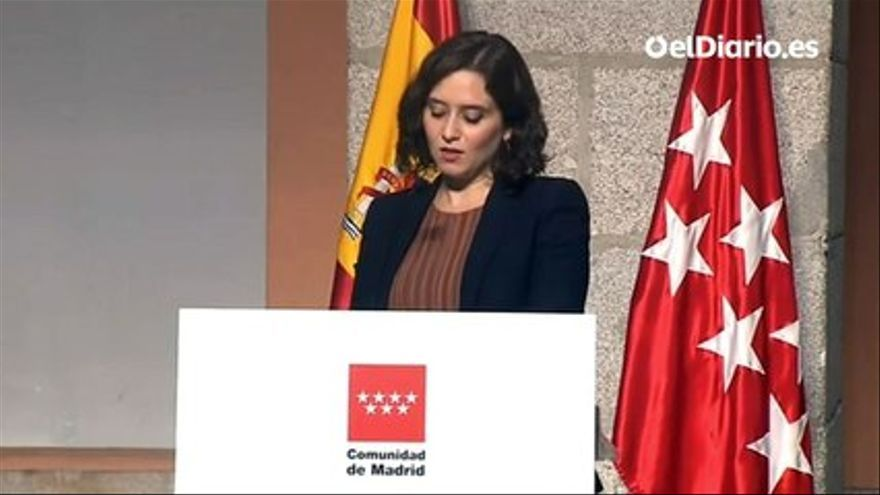 VIDEO |  These are the measures announced by Ayuso to face the pandemic in Madrid