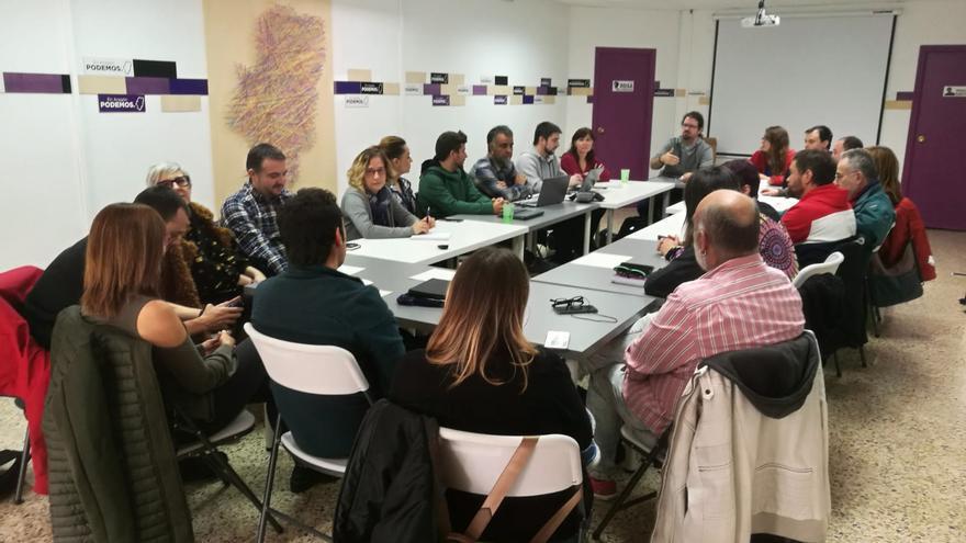 Consejo Ciudadano Autonómico de Podemos, celebrado este sábado