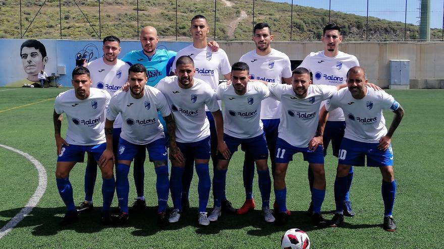 Formación del Tamaraceite, campeón de Tercera 2018/2019