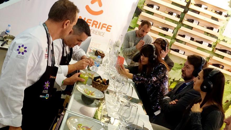 El presidente del Cabildo, Carlos Alonso, ha participado en el acto inaugural del evento culinario.
