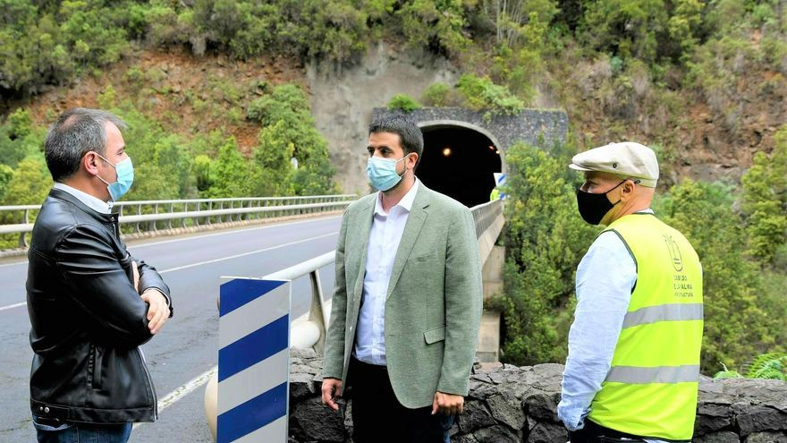 Las obras de repavimentación de la carretera del Norte, entre el túnel grande de Los Galguitos y el puente de Los Tilos, arrancan la próxima semana