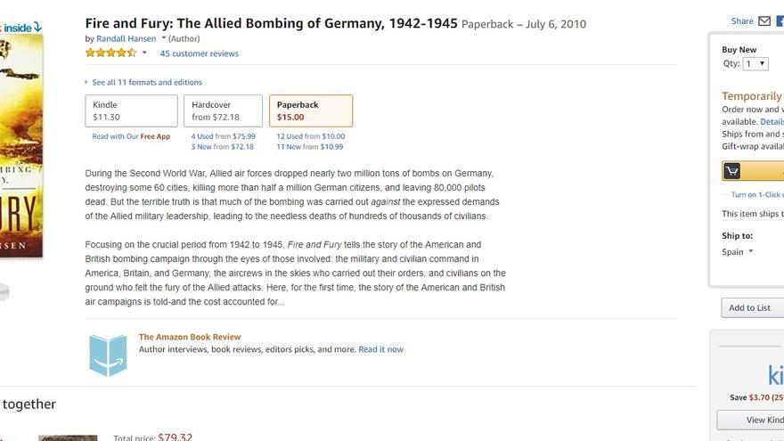 El libro del académico canadiense se encuentra temporalmente fuera de stock en Amazon Estados Unidos