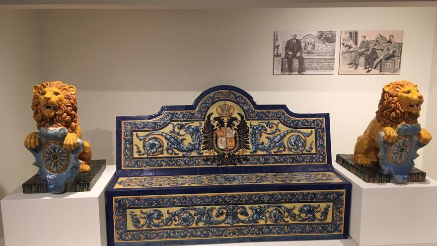 Banco en el Museo Ruiz de Luna FOTO: Fundación Impulsa Castilla-La Mancha