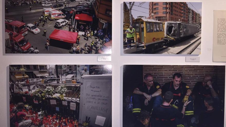 Más imágenes de los momentos posteriores al accidente.