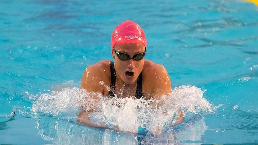 La nadadora catalana Mireia Belmonte, del UCAM Fuensanta. EFE/Ángel Medina G.