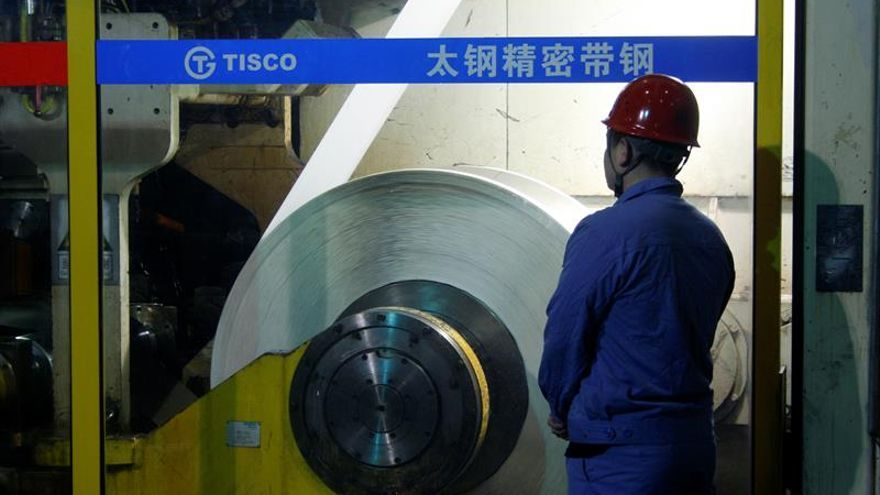China impone medidas proteccionistas al acero de la UE y de países asiáticos