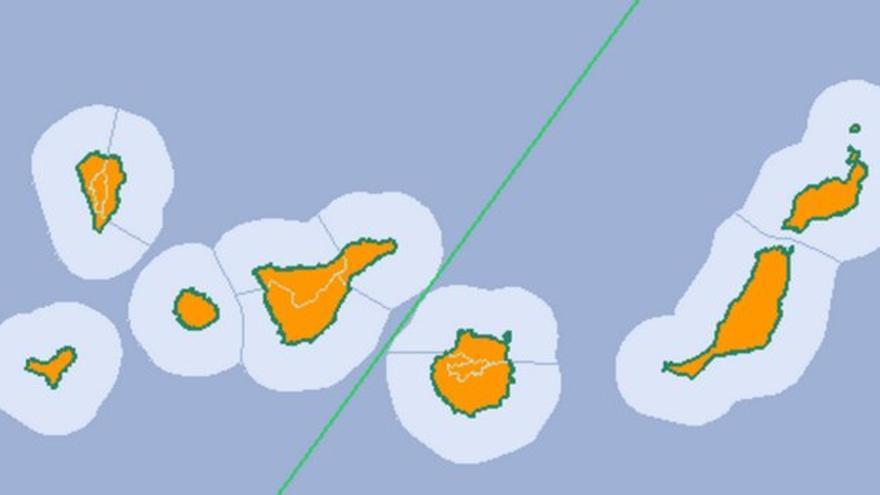 Previsión meteorológica del Aemet para el viernes 5 de agosto