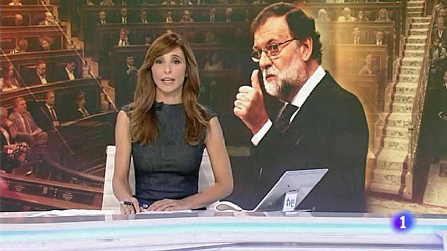 Rajoy en TVE