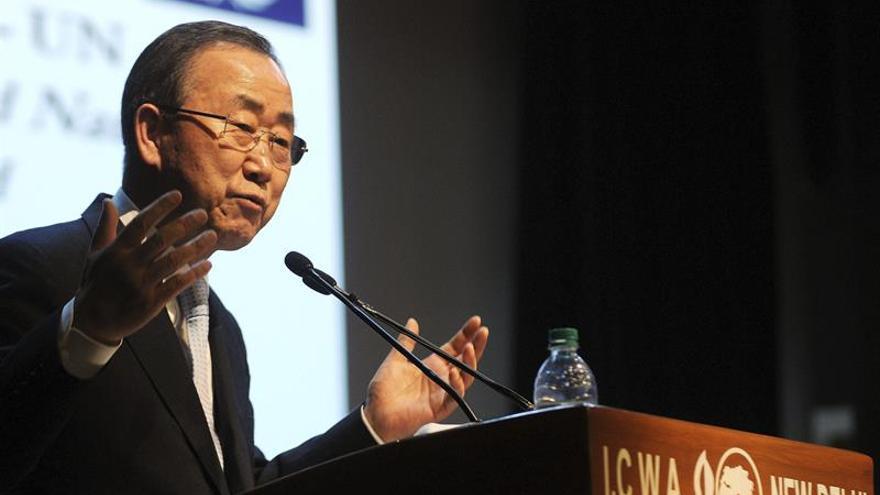 Ban Ki-moon da la bienvenida a la aprobación del nuevo acuerdo de paz de Colombia